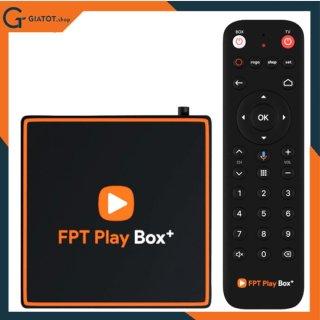 FPT Play Box+ 2020 ram 2Gb Android TV10 4K model T550 Điều khiển giọng nói tiếng Việt thumbnail
