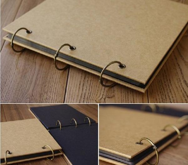 Mua SỔ SCRAPBOOK TRƠN A4 dùng làm album ảnh hoặc album sổ tay lưu niệm DIY