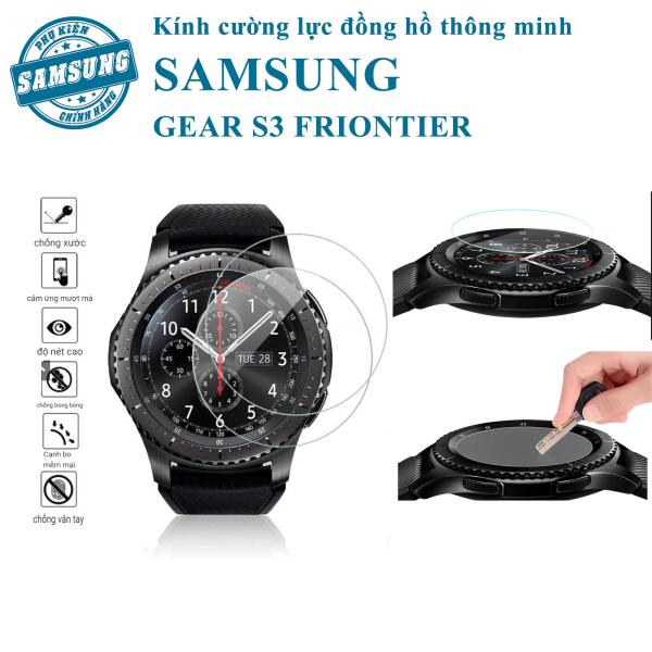 Kính cường lực đồng hồ thông minh Samsung Gear S3 Frontier/Classic