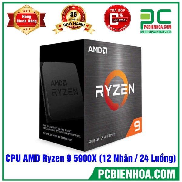 Bảng giá BỘ VI XỬ LÝ AMD RYZEN 9 5900X / 64MB / 3.7GHZ BOOST 4.8GHZ / 12 NHÂN 24 LUỒNG CHÍNH HÃNG Phong Vũ