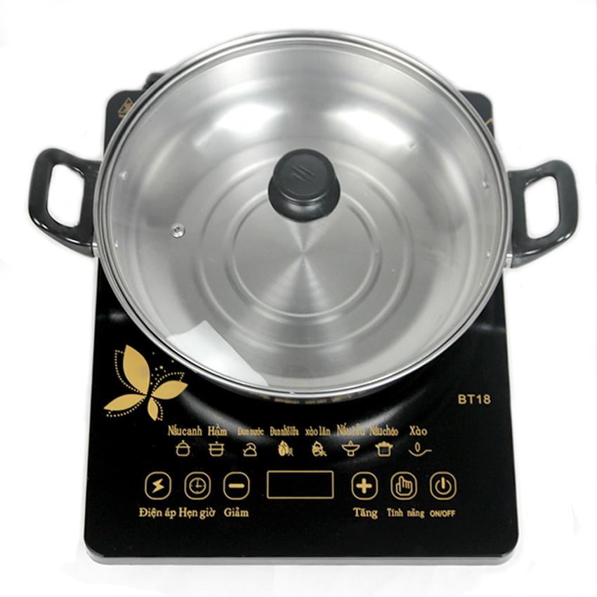 Bếp từ Media MD-BT1820 công suất 2000W + nồi lẩu