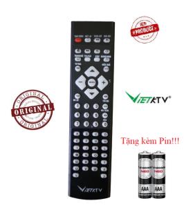 Điều khiển đầu VietkTV- Hàng tốt chính hãng Tặng kèm Pin thumbnail
