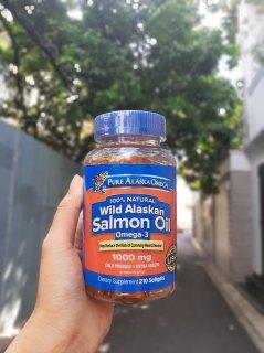 Viên dầu cá hồi Pure Alaska Omega-3 Wild Salmon Oil thumbnail