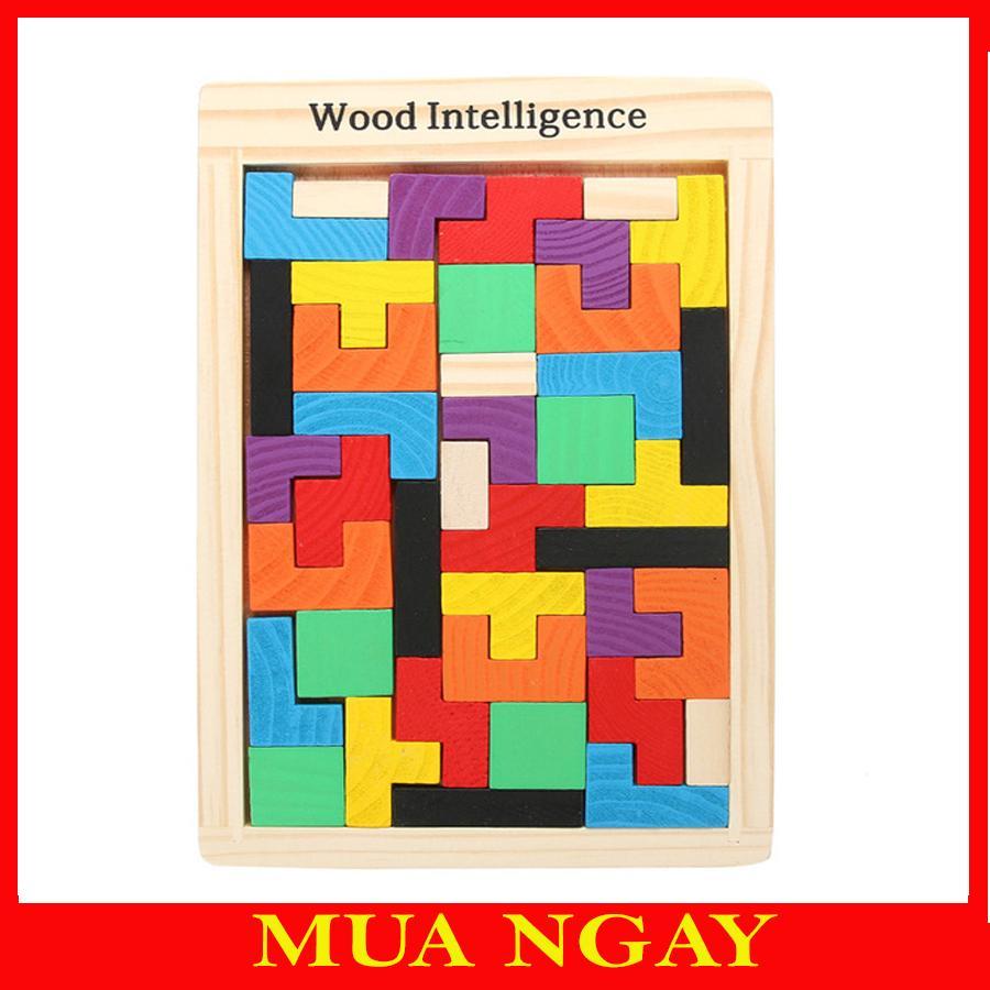 Bộ Đồ Chơi Xếp Hình Phát Triển Tư Duy Tetris Với Giá Sốc