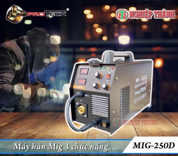 Máy Hàn Mig 3 chức năng Protech 250D3
