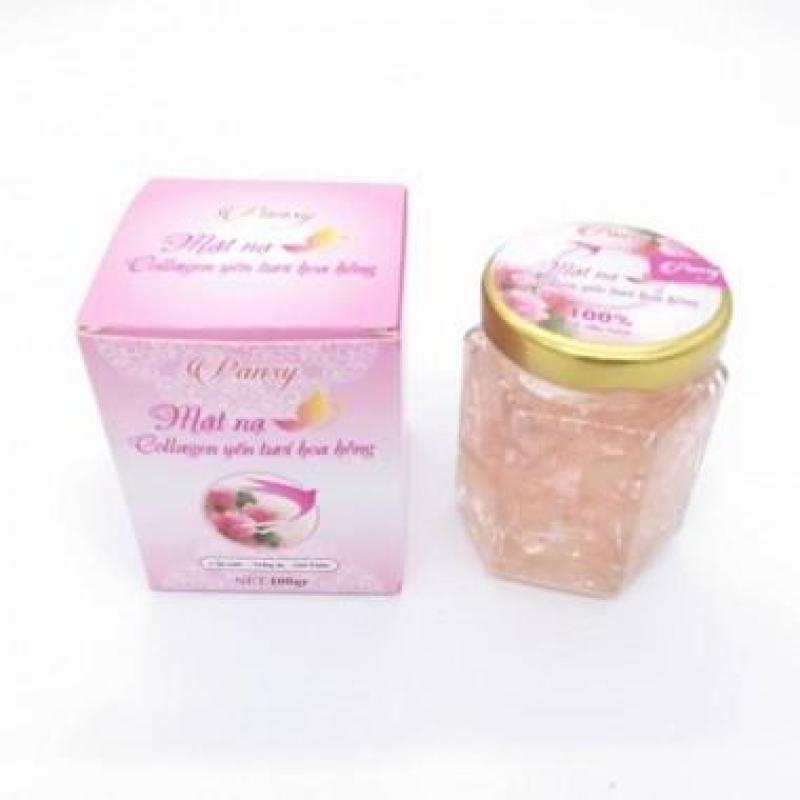 Mặt nạ yến tươi collagen cánh hoa hồng nhập khẩu