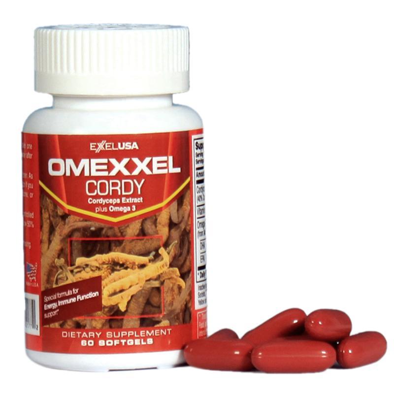 Viên Uống Đông Trùng Hạ Thảo Omexxel Cordy- Lọ 60 Viên - Xuất Xứ Mỹ By Healthy Life 289.
