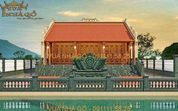 Nhà Gỗ 3 Gian Gỗ Lim Đẹp 091111.58.25