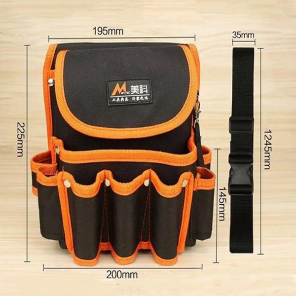 Túi đồ nghề đeo hông siêu bền chống nước chống xước chống thủng - giỏ đồ nghề đeo thắt lưng