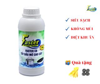 Siêu tẩy dầu mỡ FASTER (XỊT LÀ SẠCH) Hoàn tiền gấp 10 lần nếu không hiệu quả thumbnail
