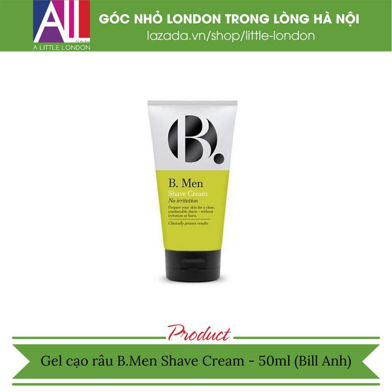 Gel cạo râu B.Men Shave Cream - 50ml (Bill Anh) giá rẻ