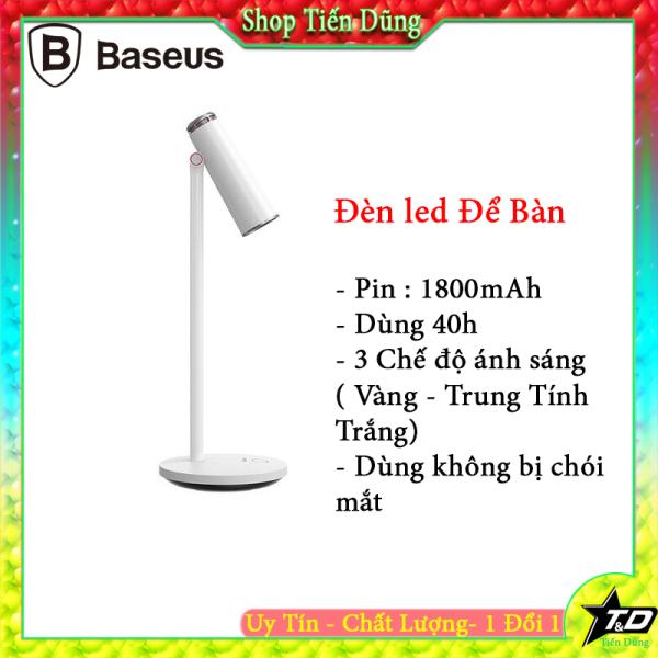 Bảng giá Đèn LED để bàn Baseus DGIWK A02 sạc USB vệ mắt Đọc sách làm việc cho gia đình Văn phòng Phong Vũ