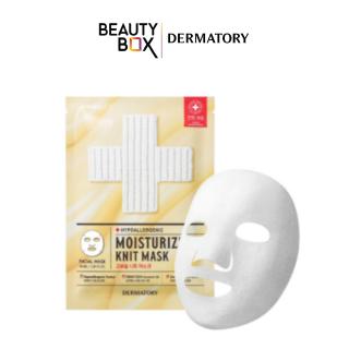 Mặt Nạ Dưỡng Da Dermatory Hypoallergenic Moisturizing Knit Mask 40ml