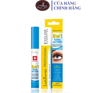 Huyết Thanh Dưỡng Mi Eveline 8 in1 Total Action 10ml thumbnail