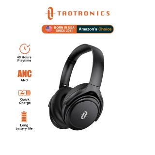 Tai nghe không dây TaoTronics TT-BH085 soundsurge 85 ANC BT 5.0, tai nghe có mic, CVC 8.0 hoạt động chống ồn qua tai nghe có thể gập lại và xoay được âm thanh Hi-Fi âm trầm sâu Tai nghe bluetooth có micrô, sạc nhanh thumbnail
