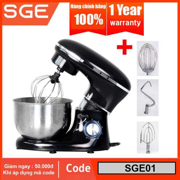Máy nhồi bột hay máy đánh trứng để bàn ONYX. Trộn dễ dàng mọi loại thực phẩm với ONYX, máy có 6 chế độ trộn và được tặng kèm 3 đầu trộn. Hàng nhập khẩu chính hãng SGE Thailand. Bảo hành 1 đổi 1 trong vòng 1 năm miễn phí