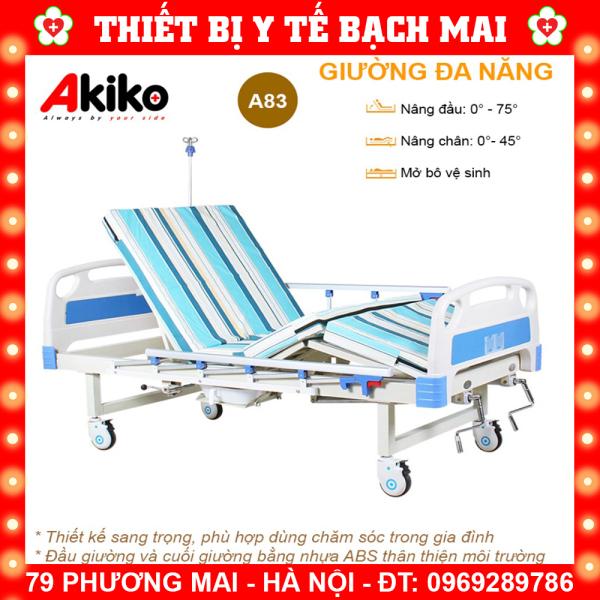 Giường Bệnh 3 Tay Quay Akiko A83 Đa Năng