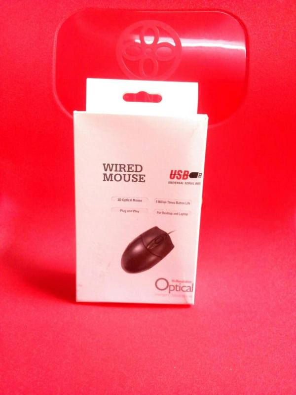 Chuột quang có dây USB, chắc tay, chuột nhạy