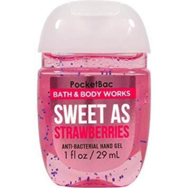 GEL RỬA TAY KHÔ SWEET AS STRAWBERRIES - BATH AND BODY WORKS 29ML tốt nhất