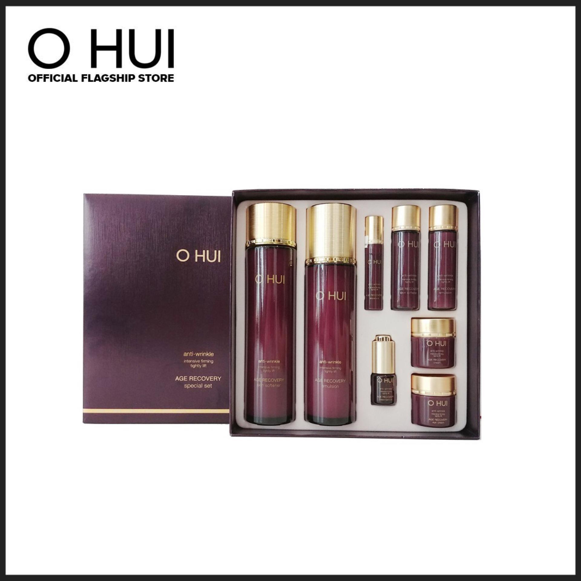 Bộ chống lão hoá 8 món OHUI Age Recovery 8pcs Special Set 340ml