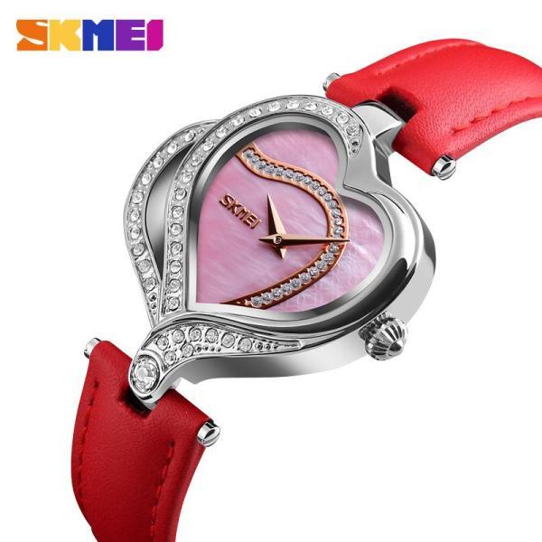 SKMEI Đồng hồ thời trang nữ tay bằng nước kim cương đeo tay bằng nước 9161