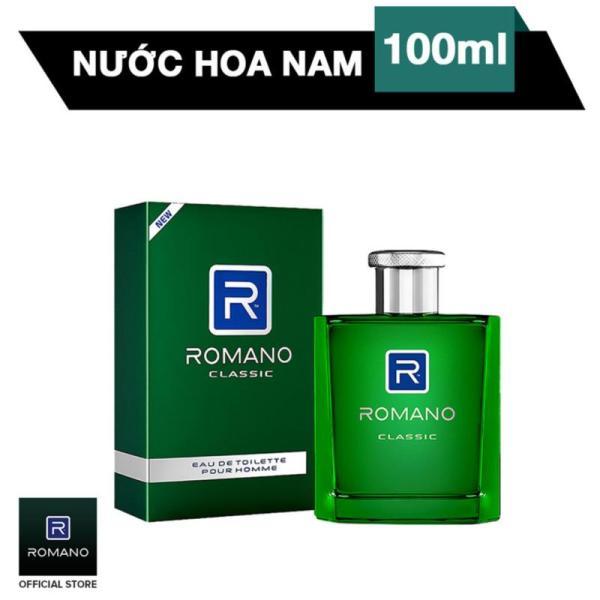Nước Hoa Nam Romano Classic 100ml