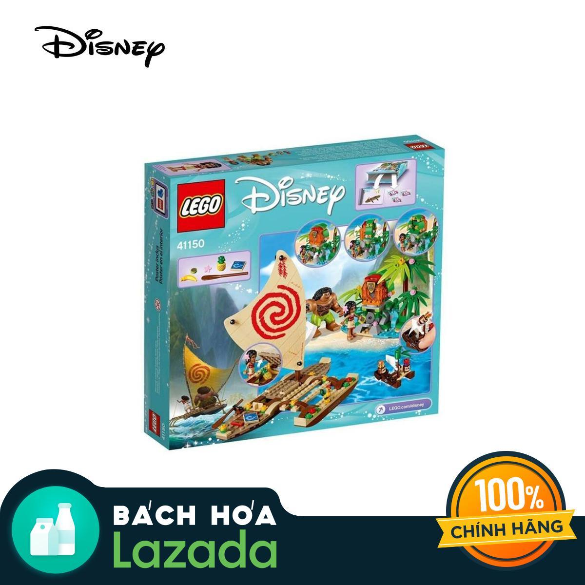 Mã Ưu Đãi Khi Mua Bộ Lắp Ráp Lego Disney Moana Hành Trình Khám Phá đại Dương 41150