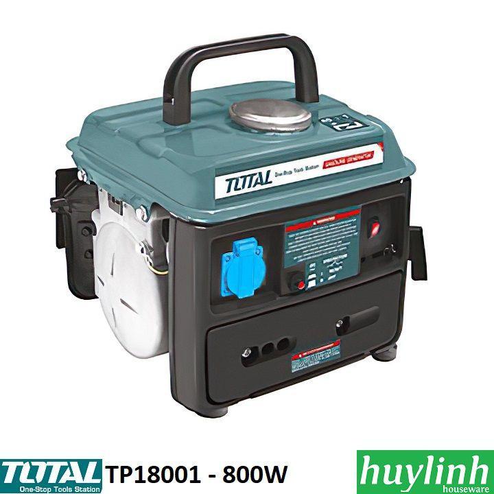 Máy phát điện chạy xăng Total TP18001 - 800W