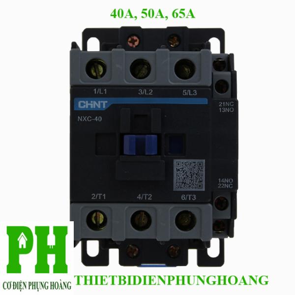 Contactor Khởi Động Từ 40A-50A-65A - 3 Pha loại NXC CHINT
