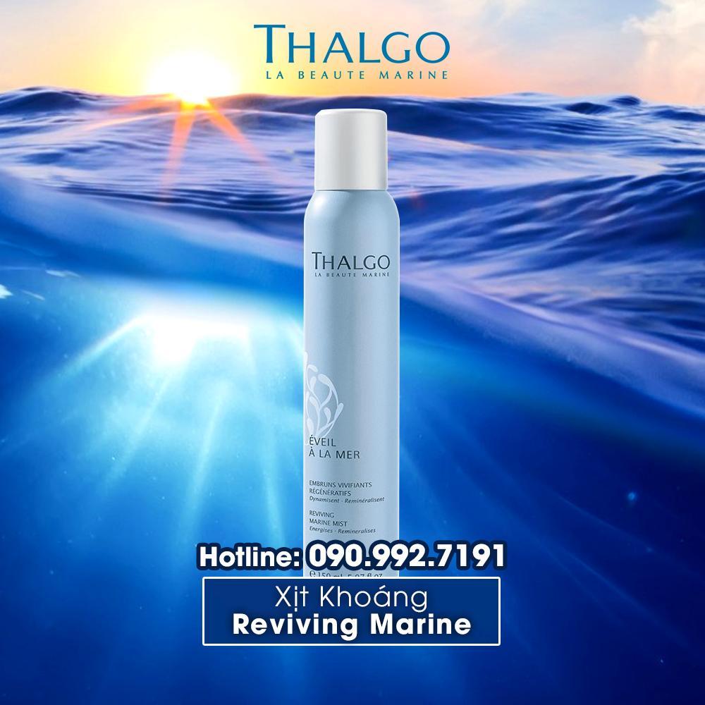 Xịt Khoáng Dưỡng Ẩm Thalgo Reviving Marine Mist 150ml tốt nhất