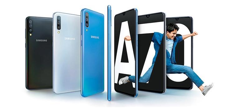 Điện thoại Samsung Galaxy A70 6GB/128GB - Hãng phân phối chính thức