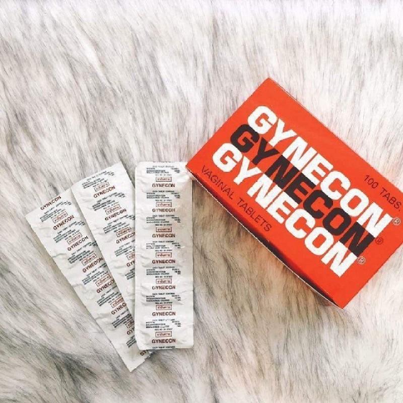 Combo 2 vỉ Gynecon Thái Lan cho phụ nữ | sạch viêm |se khít| 1 vỉ 5 viên