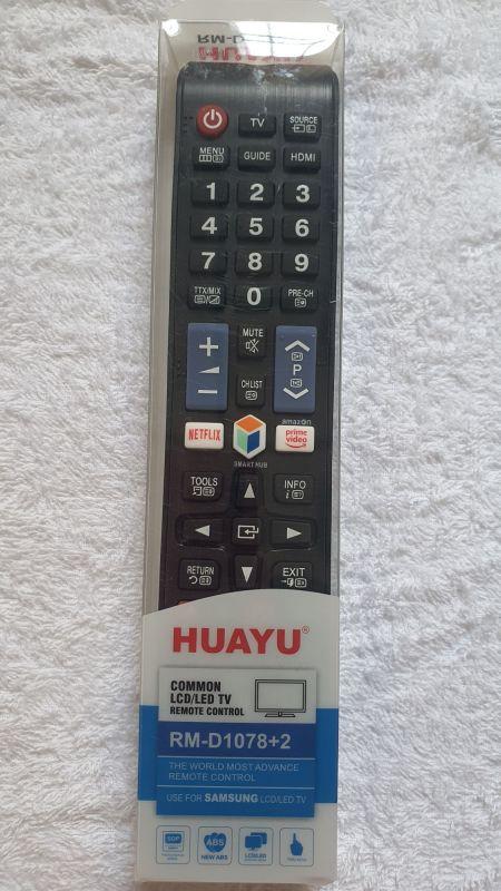REMOTE ĐIỀU KHIỂN TIVI SAMSUNG HUAYU NETFLIX RM D1078+2 CÓ HỘP chính hãng