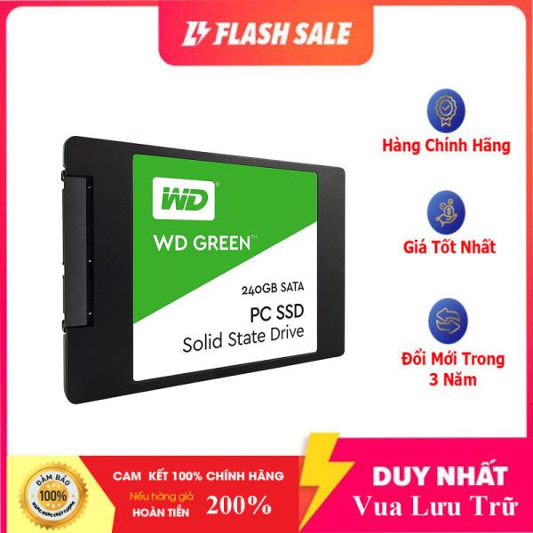 Bảng giá [Hàng Mới Về] Ổ Cứng SSD WD Green 240GB 3D NAND - WDS240G2G0A - 100% Hàng Chính Hãng Phong Vũ