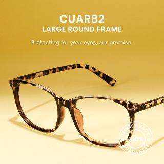 Bộ lọc ánh sáng xanh Cyxus Kính đeo mắt Ống kính trong suốt Khung màu hỗn hợp Kính mắt máy tính cho phụ nữ nam giới 8121 thumbnail