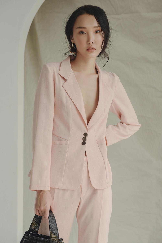 Coupon Ưu Đãi Áo Vest 1 Lớp Linen - Lilya 01BLA2350