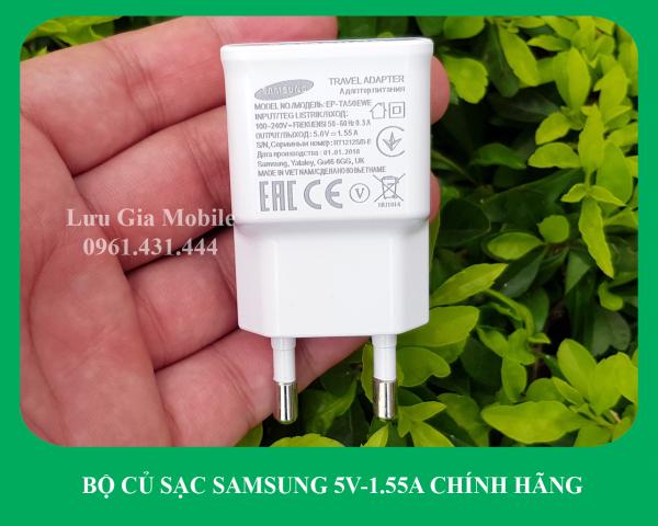[1.55A-5V] Bộ củ sạc Samsung A01 công ty | Galaxy A01 Core