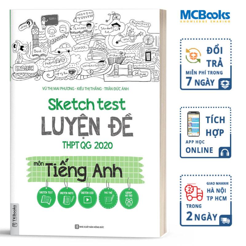 Sketch Test Luyện Đề THPTQG 2020 Môn Tiếng Anh - Kèm App Online