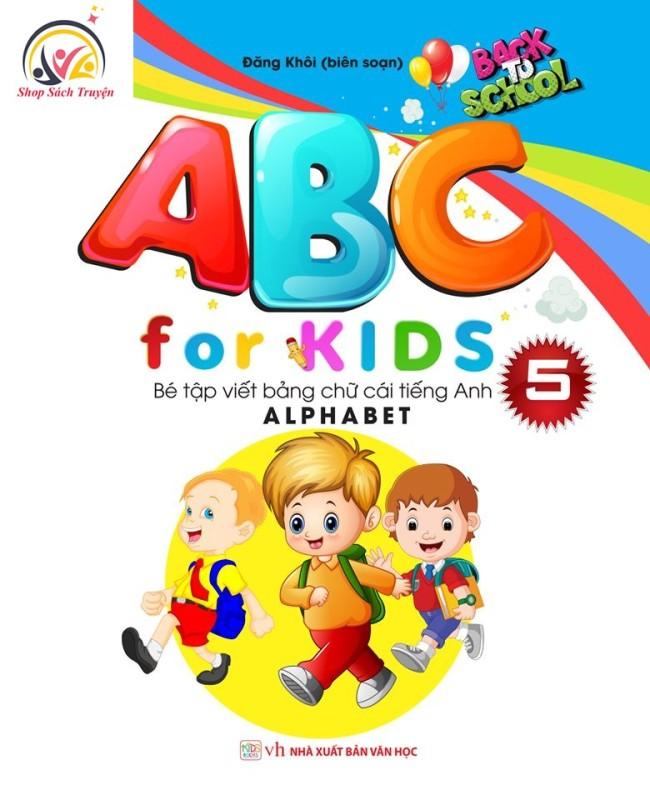 Mua Sách ABC for KIDS Q5 – Bé Tập Viết Bảng Chữ Cái Tiếng Anh Alphabet