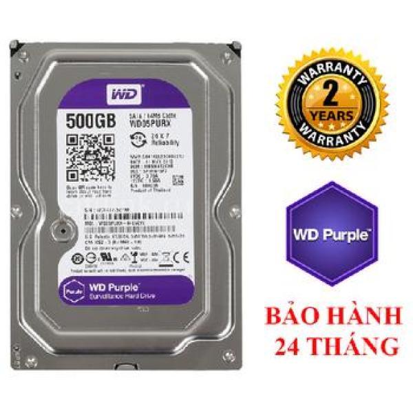 Giá Ổ Cứng Hdd 500G / 1000G(1Tb) , 2000G (2Tb) , 3000G (3Tb) Western Purple ( Tím ) , Chuyên Dùng Cho Camera , Lưu Trữ Dữ Liệu - Bảo Hành 24 Tháng 1 Đổi 1