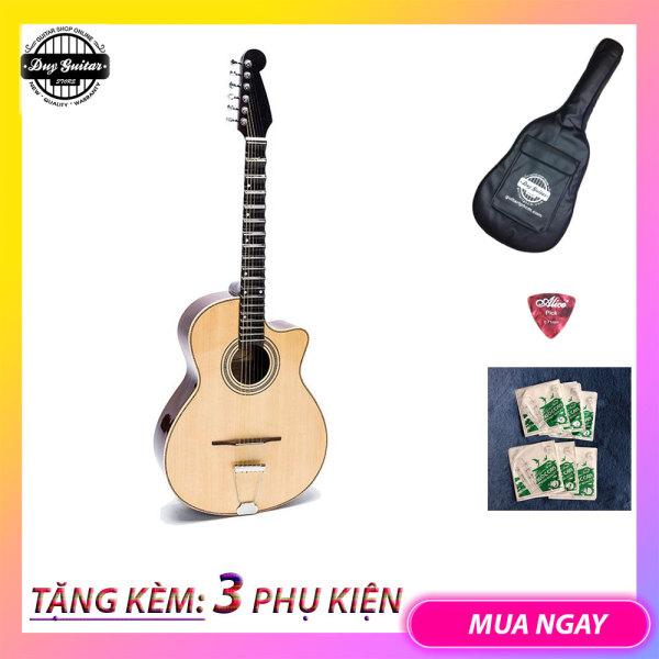 Đàn guitar phím lõm Ghi ta vọng cổ DVC200 Guitar Vọng cổ  Âm thanh mùi, chuẩn cổ nhạc Dành cho Nghệ nhân nghệ sĩ chuyên nghiệp