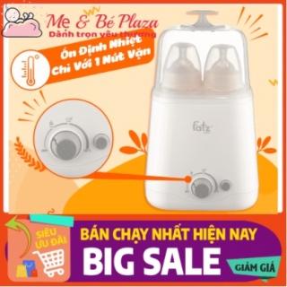 Máy hâm sữa và tiệt trùng 2 bình cổ rộng thế hệ mới Fatz Baby FB3012SLCHÍNH HÃNG thumbnail