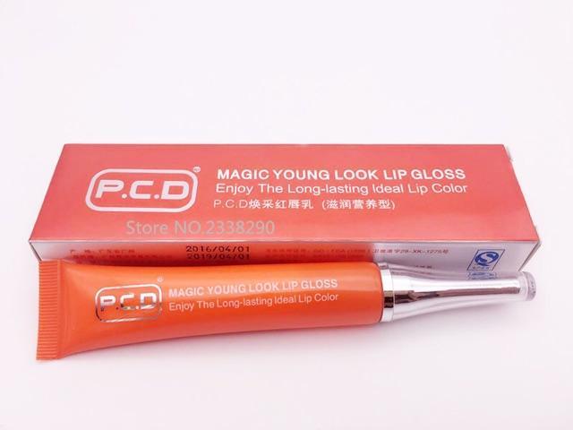 Son dưỡng môi PCD kích màu trong thẩm mỹ (màu cam )