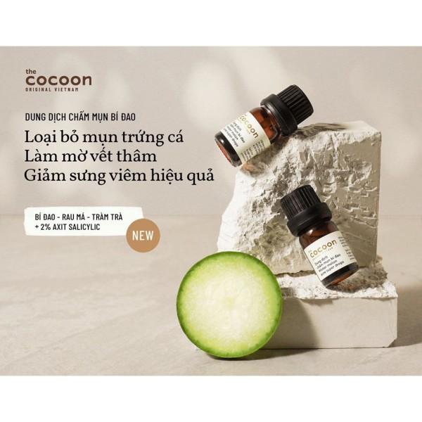 [HCM]Dung Dịch Chấm Mụn Bí Đao Cocoon Winter Melon Acne Super Drops 5ml giá rẻ