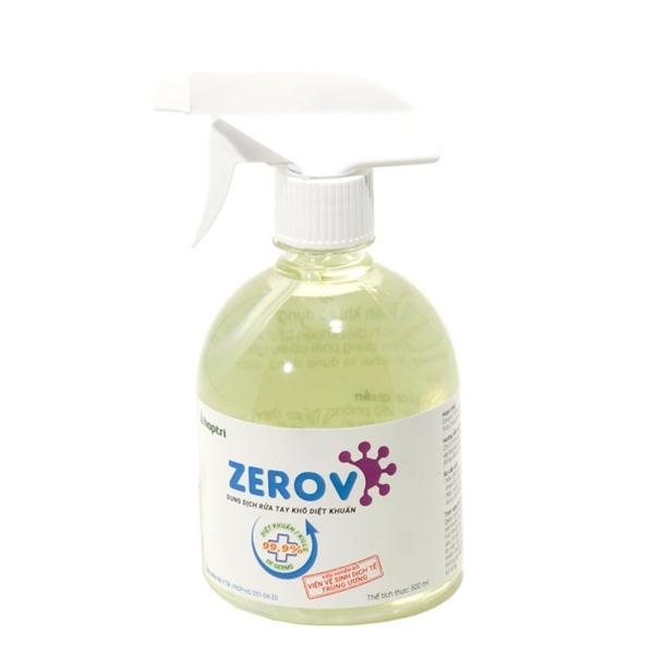 Dung dịch rửa tay khô diệt khuẩn Zero V