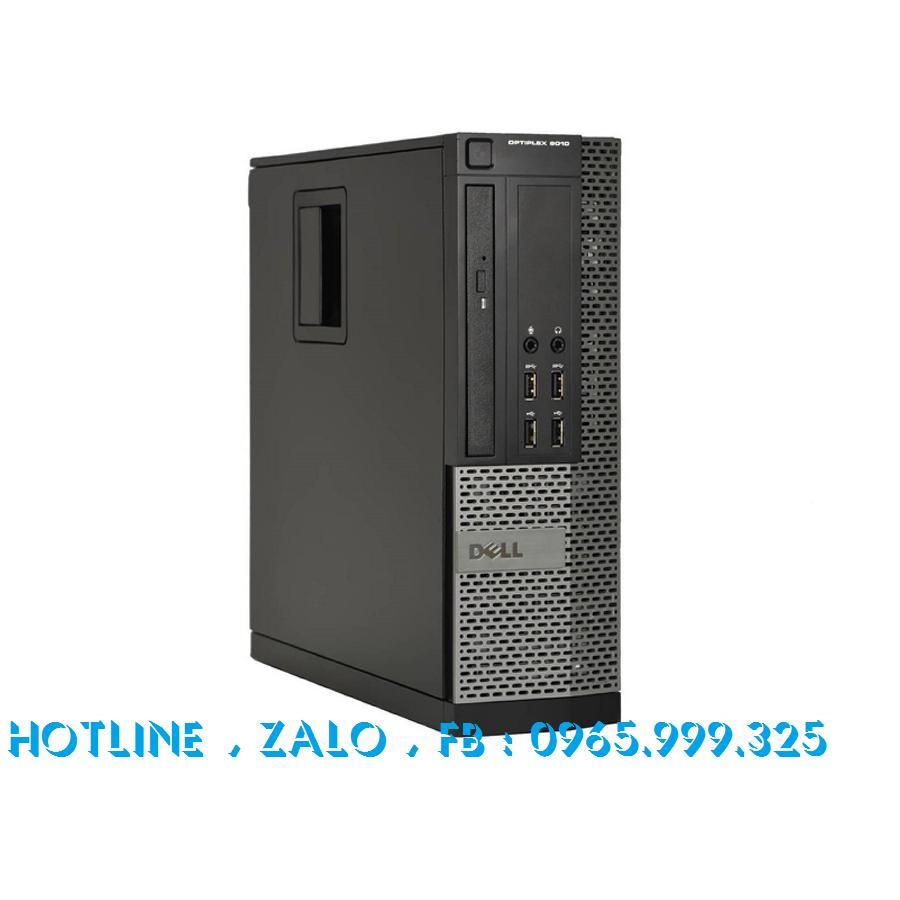 Máy tính đồng bộ Dell Optiplex 9010 SFF Core i5 RAM 4GB HDD 500GB, SSD 120gb. Tặng kèm usb thu wifi. Bảo hành 24 tháng ( không kèm màn hình ) Nhật Bản