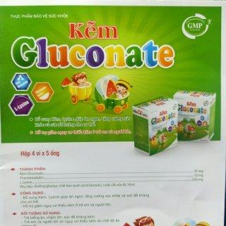 Kẽm Gluconate - Giúp Bổ Sung Kẽm, Lysine Giúp Ăn Ngon, Tăng Cường Sức Khỏe- Hộp 20 Ống thumbnail