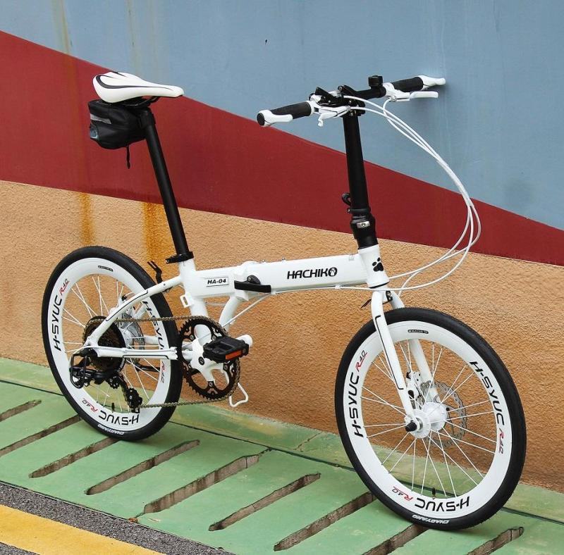 Phân phối Xe đạp gấp Hachiko HA-04