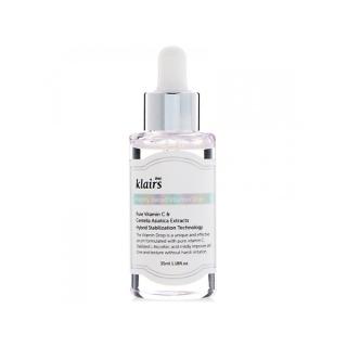 [Chính hãng] Serum hoa quả dưỡng trắng da Klairs Freshly Jucied Vitamin Drop Serum 25ml Mỹ Phẩm Vân thumbnail