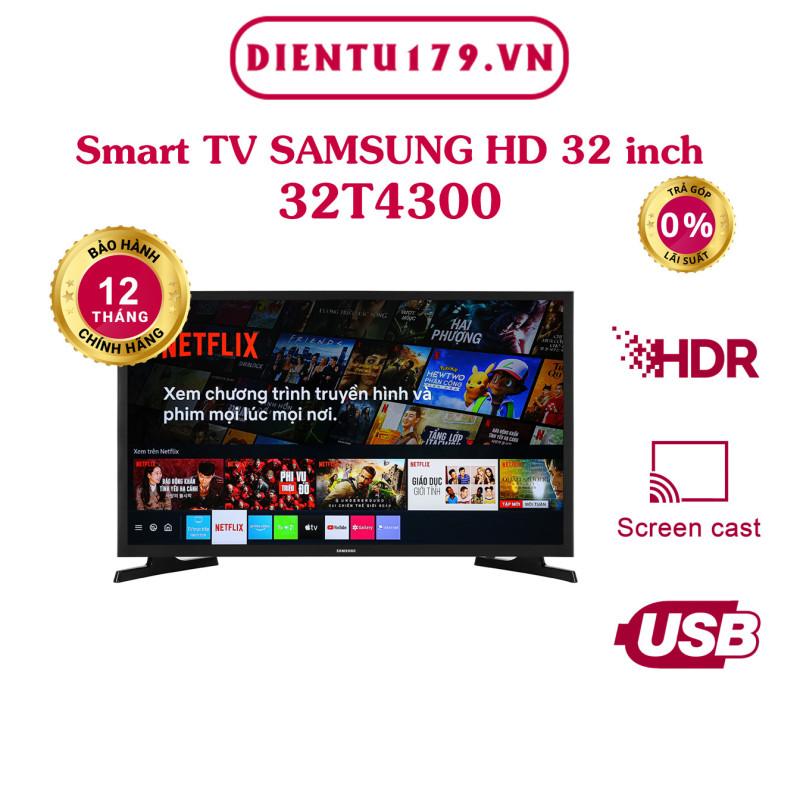 Hàng chính hãng - Smart Tivi Samsung 32 inch 32T4300 chính hãng